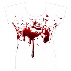 Blood Splatter 3 Women s Cap Sleeve Top