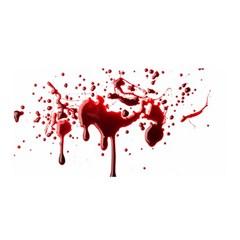 Blood Splatter 3 Satin Wrap