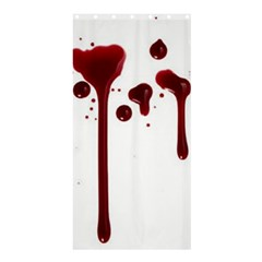 Blood Splatter 4 Shower Curtain 36  x 72  (Stall)