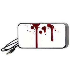 Blood Splatter 4 Portable Speaker (Black)