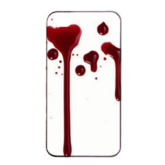 Blood Splatter 4 Apple iPhone 4/4s Seamless Case (Black)