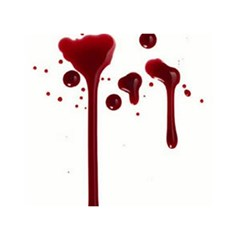 Blood Splatter 4 Birthday Cake 3d Greeting Card (7x5)