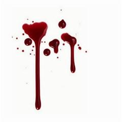 Blood Splatter 4 Large Garden Flag (two Sides)