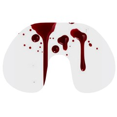 Blood Splatter 4 Travel Neck Pillows