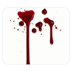 Blood Splatter 4 Double Sided Flano Blanket (Small)