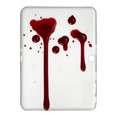 Blood Splatter 4 Samsung Galaxy Tab 4 (10.1 ) Hardshell Case