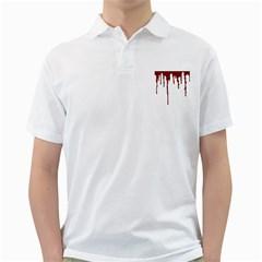 Blood Splatter 5 Golf Shirts