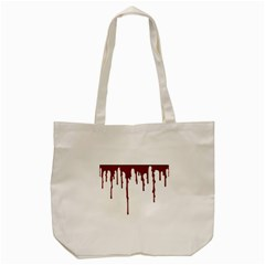 Blood Splatter 5 Tote Bag (Cream)