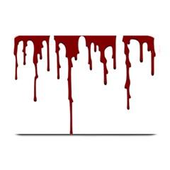 Blood Splatter 5 Plate Mats