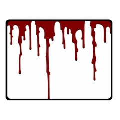 Blood Splatter 5 Fleece Blanket (Small)