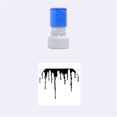 Blood Splatter 5 Rubber Round Stamps (Small)