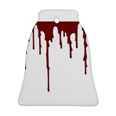 Blood Splatter 5 Bell Ornament (2 Sides)