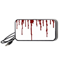Blood Splatter 5 Portable Speaker (Black)