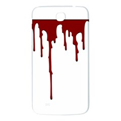 Blood Splatter 5 Samsung Galaxy Mega I9200 Hardshell Back Case