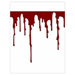 Blood Splatter 5 Drawstring Bag (Large)