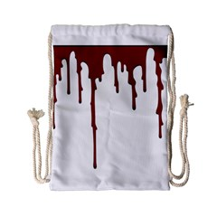 Blood Splatter 5 Drawstring Bag (Small)