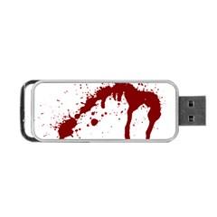 Blood Splatter 6 Portable USB Flash (One Side)