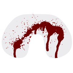 Blood Splatter 6 Travel Neck Pillows