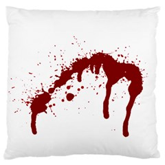 Blood Splatter 6 Large Flano Cushion Cases (Two Sides)