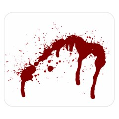 Blood Splatter 6 Double Sided Flano Blanket (Small)