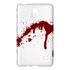 Blood Splatter 6 Samsung Galaxy Tab 4 (7 ) Hardshell Case