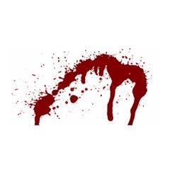 Blood Splatter 6 Satin Wrap