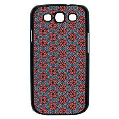 Cute Seamless Tile Pattern Gifts Samsung Galaxy S III Case (Black)