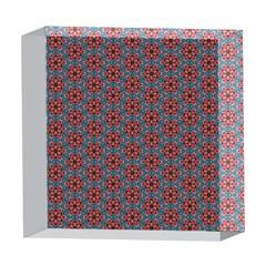 Cute Seamless Tile Pattern Gifts 5  x 5  Acrylic Photo Blocks