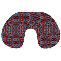Cute Seamless Tile Pattern Gifts Travel Neck Pillows