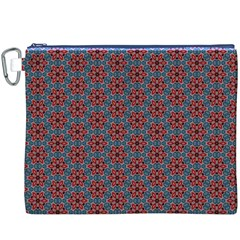 Cute Seamless Tile Pattern Gifts Canvas Cosmetic Bag (XXXL)