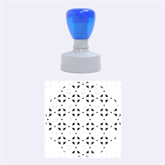 Cute Seamless Tile Pattern Gifts Rubber Round Stamps (medium)