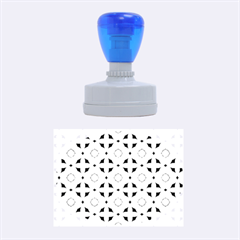 Cute Seamless Tile Pattern Gifts Rubber Oval Stamps