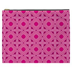 Cute Seamless Tile Pattern Gifts Cosmetic Bag (xxxl)