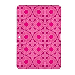 Cute Seamless Tile Pattern Gifts Samsung Galaxy Tab 2 (10 1 ) P5100 Hardshell Case