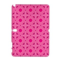 Cute Seamless Tile Pattern Gifts Samsung Galaxy Note 10 1 (p600) Hardshell Case