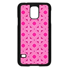 Cute Seamless Tile Pattern Gifts Samsung Galaxy S5 Case (black)