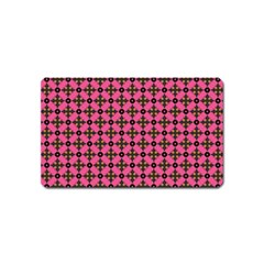 Cute Seamless Tile Pattern Gifts Magnet (name Card)