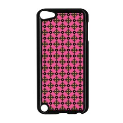 Cute Seamless Tile Pattern Gifts Apple Ipod Touch 5 Case (black)