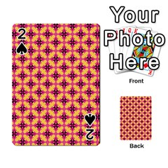 Cute Seamless Tile Pattern Gifts Playing Cards 54 Designs