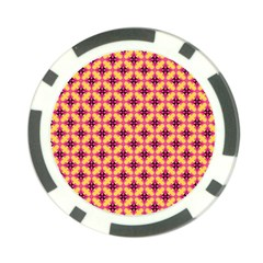 Cute Seamless Tile Pattern Gifts Poker Chip Card Guards