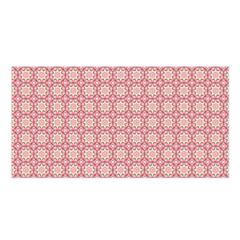 Cute Seamless Tile Pattern Gifts Satin Shawl