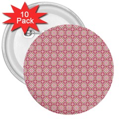 Cute Seamless Tile Pattern Gifts 3  Buttons (10 Pack)