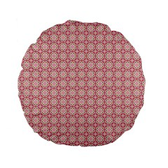 Cute Seamless Tile Pattern Gifts Standard 15  Premium Flano Round Cushions