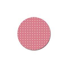 Cute Seamless Tile Pattern Gifts Golf Ball Marker