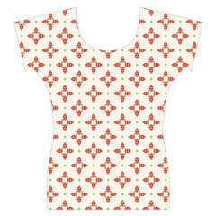 Cute Seamless Tile Pattern Gifts Women s Cap Sleeve Top
