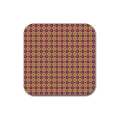 Cute Seamless Tile Pattern Gifts Rubber Coaster (square)