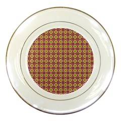 Cute Seamless Tile Pattern Gifts Porcelain Plates