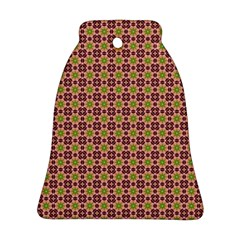Cute Seamless Tile Pattern Gifts Bell Ornament (2 Sides)