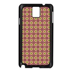 Cute Seamless Tile Pattern Gifts Samsung Galaxy Note 3 N9005 Case (black)