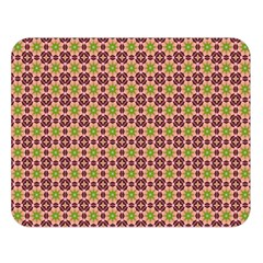 Cute Seamless Tile Pattern Gifts Double Sided Flano Blanket (Large)
